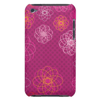 Cute retro flower pattern ipod case iPod touch case