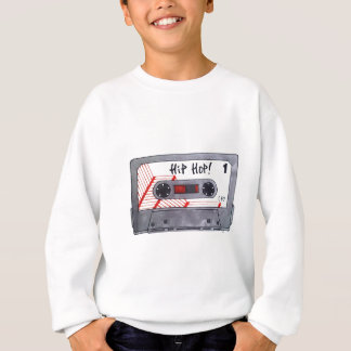 Cute retro hip hop mixtape sweatshirt