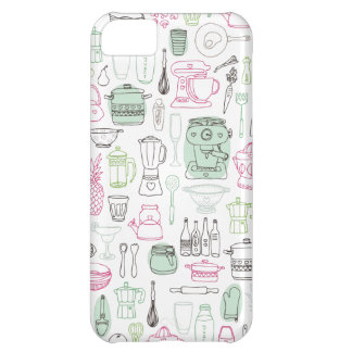 Cute retro kitchen cooking iphone case iPhone 5C covers