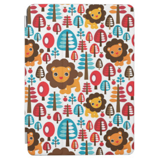 cute retro Lion kids illustration iPad Air Cover