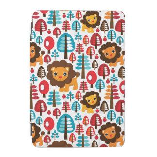 cute retro Lion kids illustration iPad Mini Cover