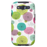 Cute retro owl and tree pattern design samsung galaxy SIII cover