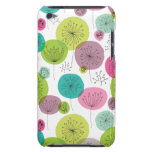 Cute retro owl and tree pattern design iPod Case-Mate case