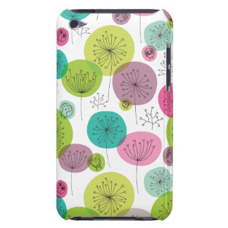 Cute retro owl and tree pattern design Case-Mate iPod touch case