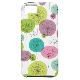 Cute retro owl and tree pattern design iPhone 5 cases