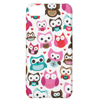 Cute retro owl pattern iphone case cover for iPhone 5C