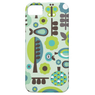 Cute retro pattern flowers iphone case iPhone 5 cover