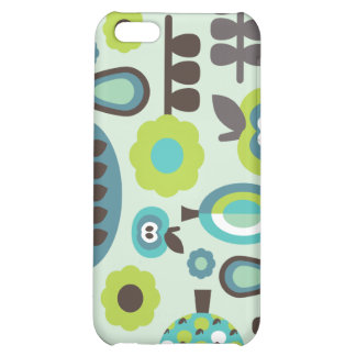 Cute retro pattern flowers iphone case iPhone 5C covers