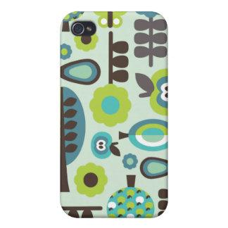Cute retro pattern flowers iphone case iPhone 4/4S case