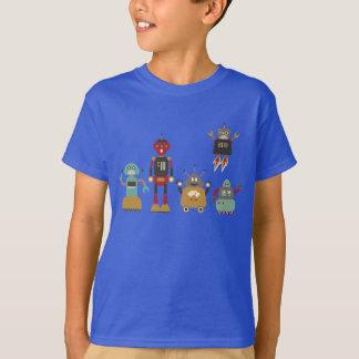 Cute Retro Robots T-Shirt
