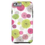 Cute retro tree flower pattern design iPhone 6 cas Tough iPhone 6 Case