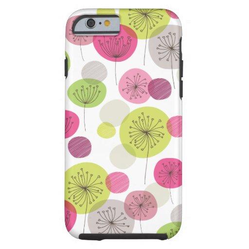 Cute retro tree flower pattern design iPhone 6 cas iPhone 6 Case