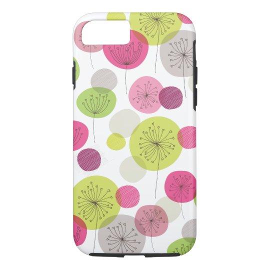 Cute retro tree flower pattern design iPhone 7