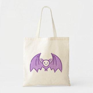Cute Rhinestone Bat Budget Tote Bag