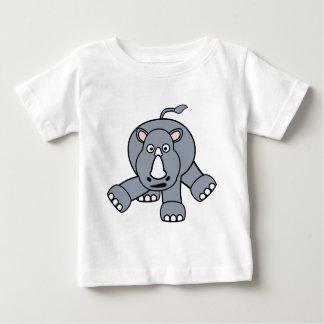 Cute Rhino Design Baby T-Shirt