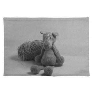 Cute rhino design products placemat