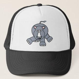 Cute Rhino Design Trucker Hat