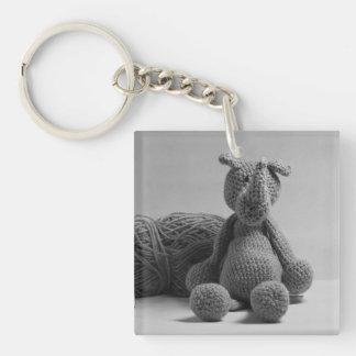 Cute Rhino Key Ring