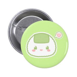Cute Riceball Button