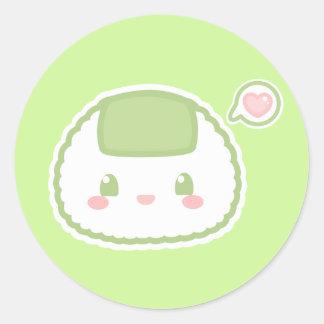 Cute Riceball Sticker