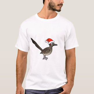 Cute Roadrunner Santa Claus T-Shirt