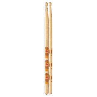 Cute Roaring Cartoon Lion Drumsticks