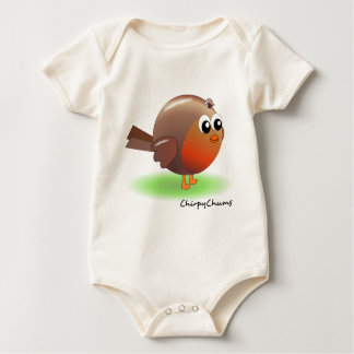 Cute Robin Baby Bodysuit
