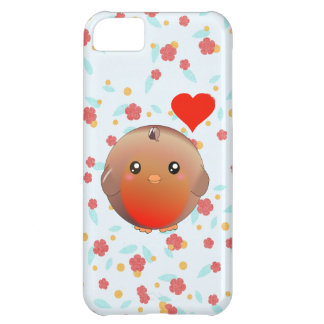 Cute Robin Bird iPhone 5C Case