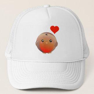 Cute Robin Bird Trucker Hat