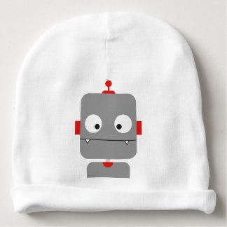 Cute Robot Baby Beanie