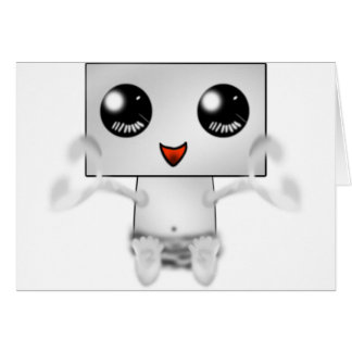Cute Robot Card