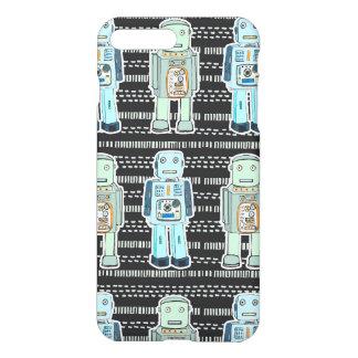 cute robot design iphone case