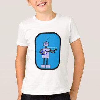 Cute Robot Guitarist from Seven Year Night T-Shirt