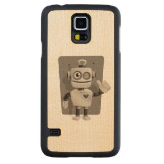 Cute Robot Maple Galaxy S5 Case