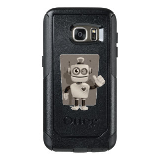 Cute Robot OtterBox Samsung Galaxy S7 Case