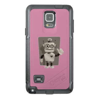 Cute Robot OtterBox Samsung Note 4 Case