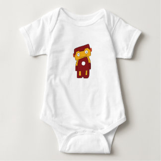 Cute Robot Superhero Baby Clothes Sleepwear Baby Bodysuit
