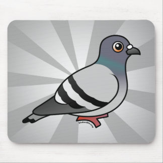 Cute Rock Pigeon Mouse Mat