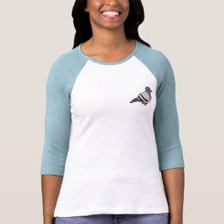 Cute Rock Pigeon Tee Shirts