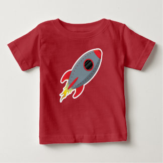 Cute Rocket Ship T-Shirt  Baby - Toddler - Kids