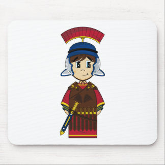 Cute Roman Soldier Mousepad