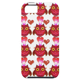 Cute romantic iPhone 5 bold case Cartoon Owls