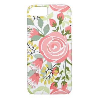 Cute romantic roses iPhone 8/7 case