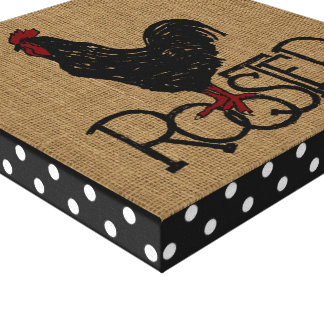 """""""Cute Rooster"""" CANVAS PRINT"""