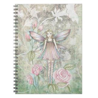 Cute Rose Fairy Notebook