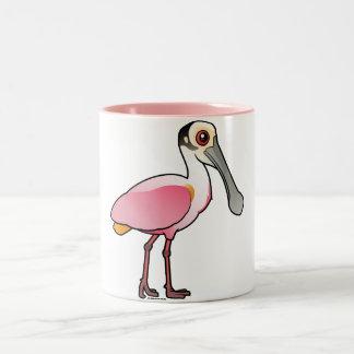 Cute Roseate Spoonbill Mugs