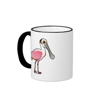 Cute Roseate Spoonbill Coffee Mugs