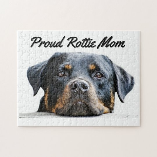 Cute Rottweiler Dog Breed | Proud Rottie Mum