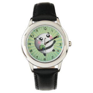 Cute Round Panda Watch
