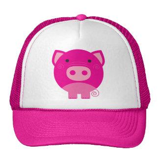 Cute Round Pig Cartoon Hat